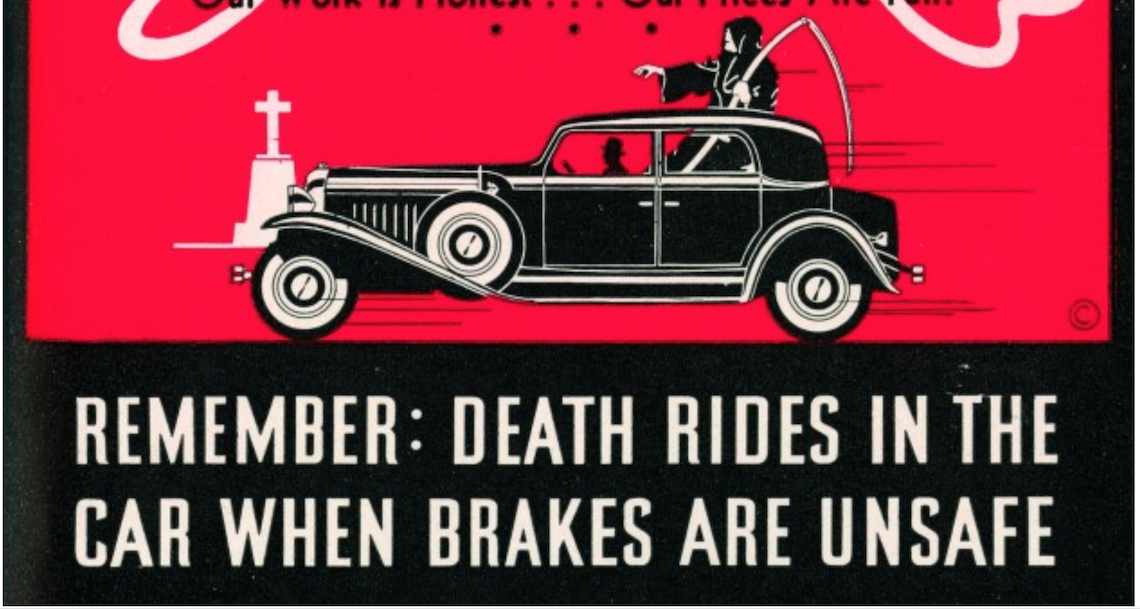 BRAKE RETRO: Death Rides in Cars With Unsafe Brakes