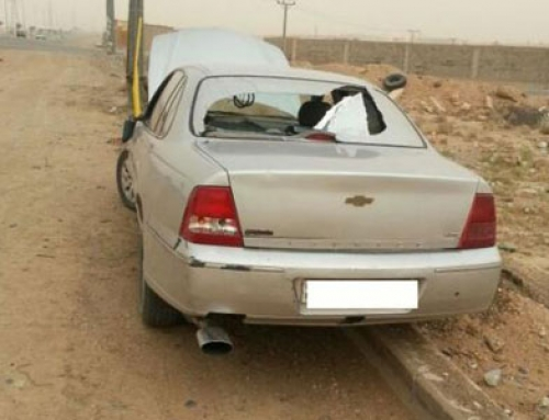 Speeding Car With Brake Problems Stopped By a Single Bullet