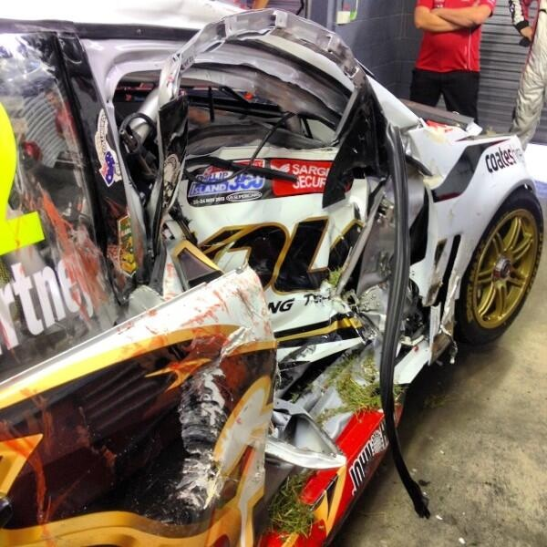 Supercars Crashes Image Gallery Hcpr