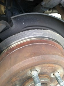 This customer complained of brake noise..