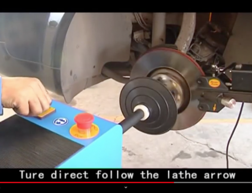 VIDEO: Funny Engrish Brake Lathe Video