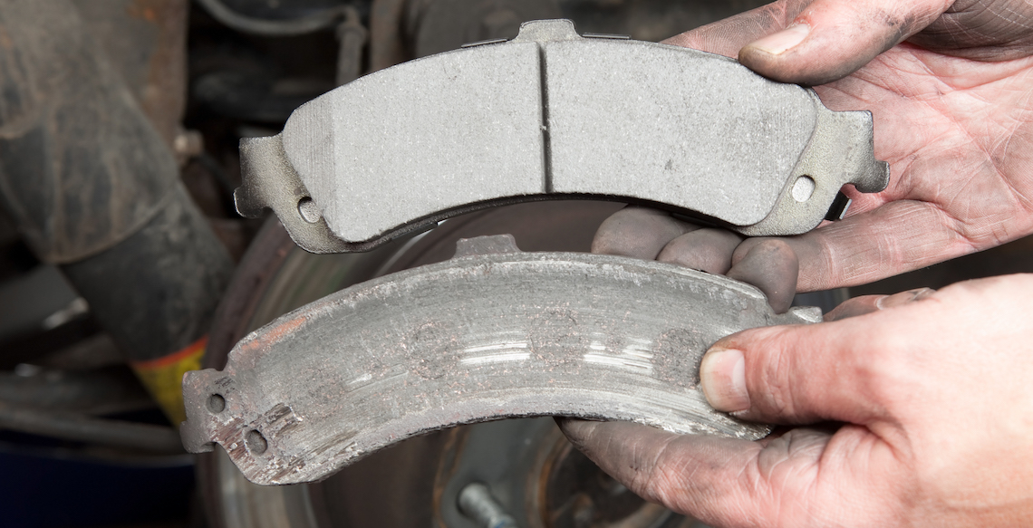 Dangerous Delamination Of Brake Friction Lining Material