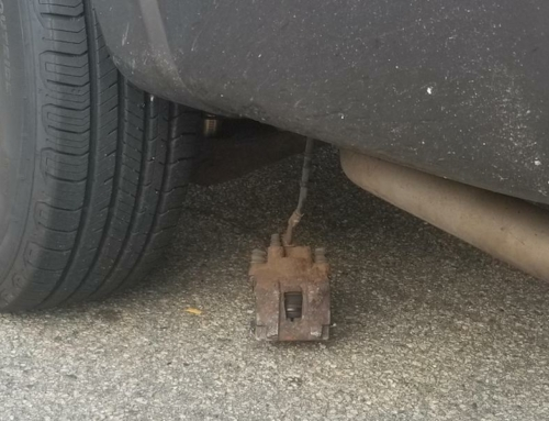 BAD BRAKES: The Caliper Is Dragging